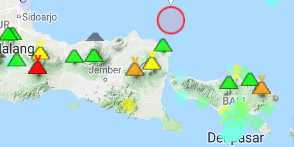 Java und Bali schon wieder von Erdbeben erschüttert ...