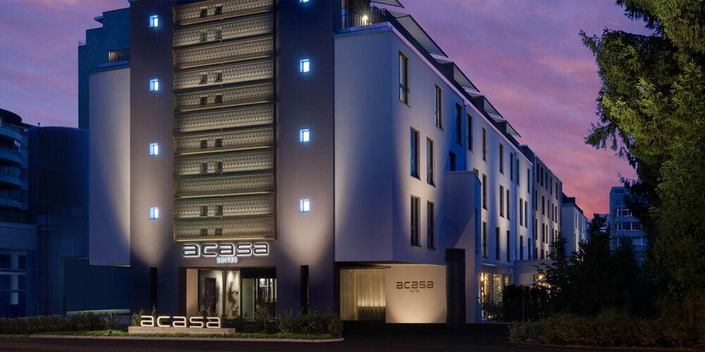 141 neue Wohneinheiten an der Binzmühlestrasse 72 in Zürich-Oerlikon in den Acasa Suites. Bilder: Acasa