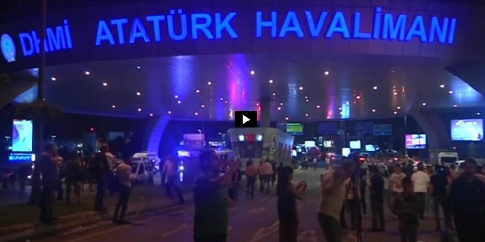 Anschlag Flughafen Atatürk