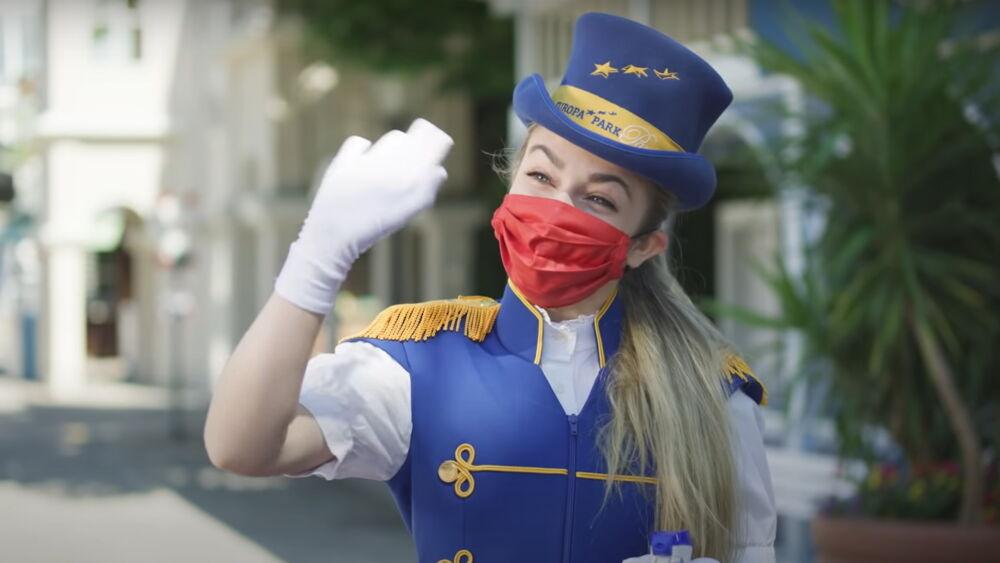 Europapark Maskenpflicht