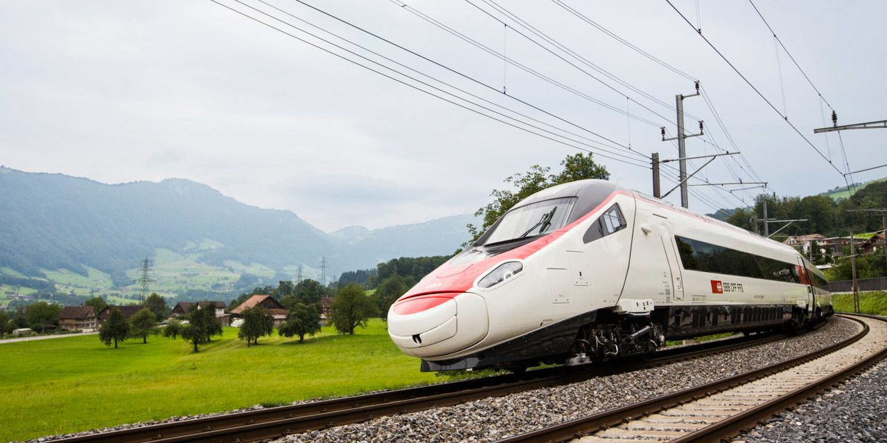 Bahnstrecke Zürich-München | Bild: SBB/CFF/FFS