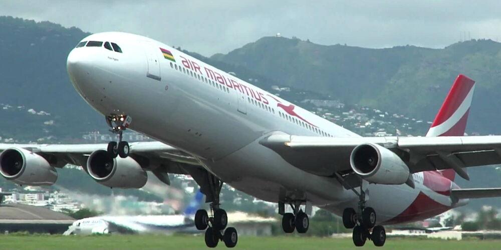 Flugzeit nach mauritius