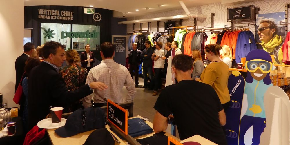powdair launch day - September 6 - Ellis Brigham - Covent Garden - London (Zoe Ombler presenting).jpg